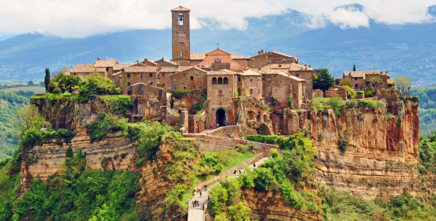 Чивита ди Баньореджо (Civita di Bagnoregio)