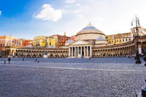 Piazza Plebiscito in Naples