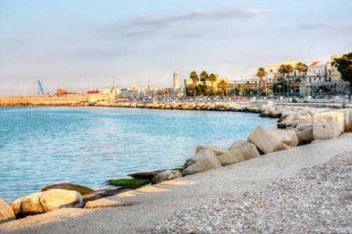 Embankment of Bari Italy hdr