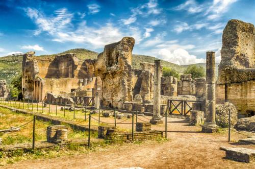 Руины на вилле Адриана Тиволи